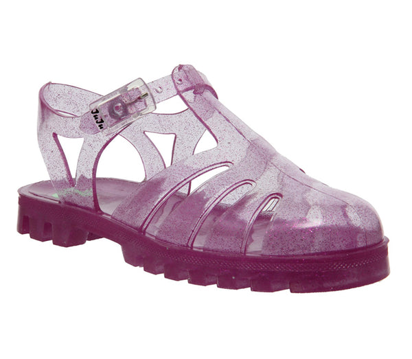 Kids Juju Sammy 42 Transparent Pink Glitter