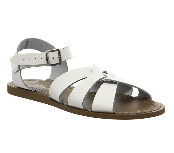 Womens Salt Water Salt Water Original White Leather