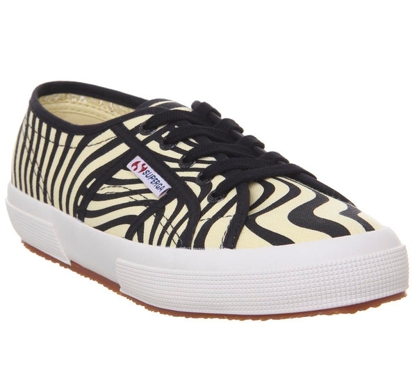 Womens Superga 2750 Optical Waves Uk Size 5.5