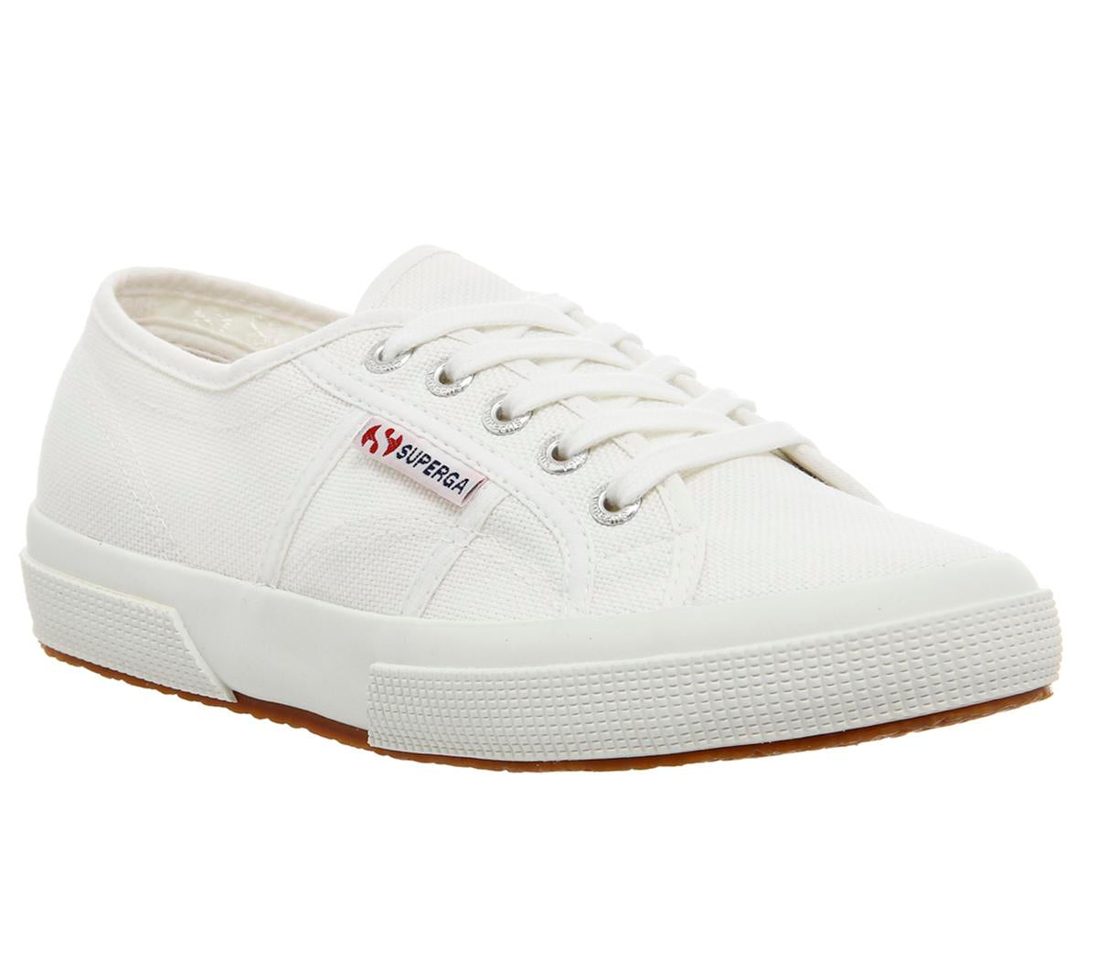 Womens Superga 2750 White