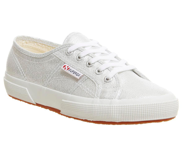 Womens Superga 2750 Grey Silver