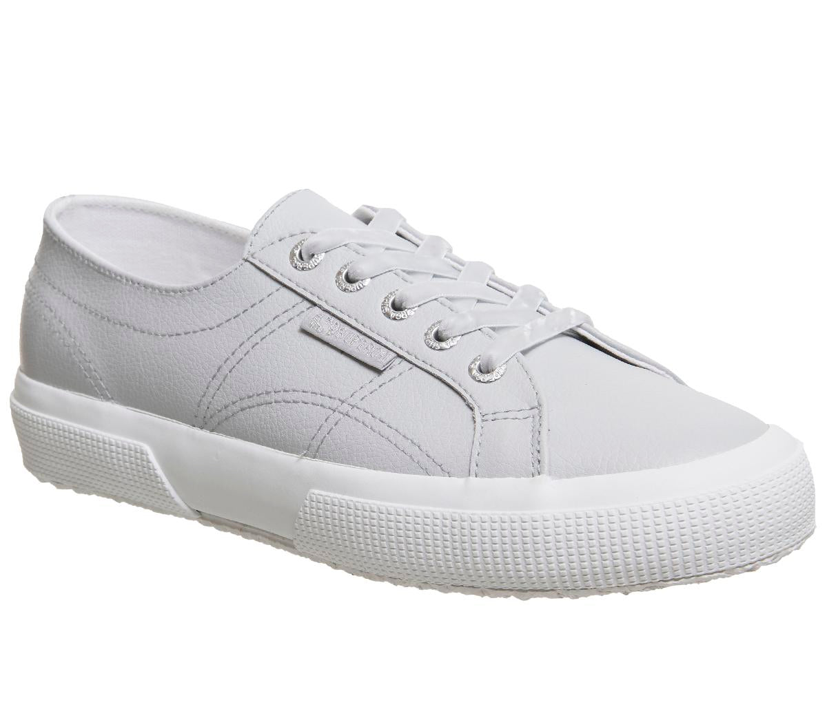 Womens Superga 2750 Glacier Grey Leather