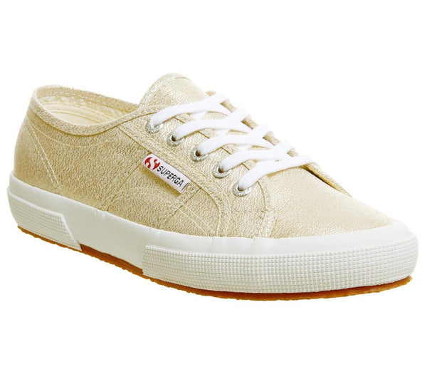Womens Superga 2750 Yellow Gold