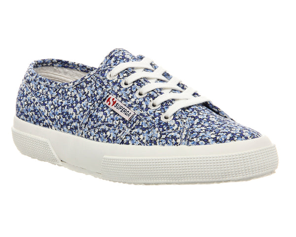 Womens Superga 2750 Liberty Pepper Blue