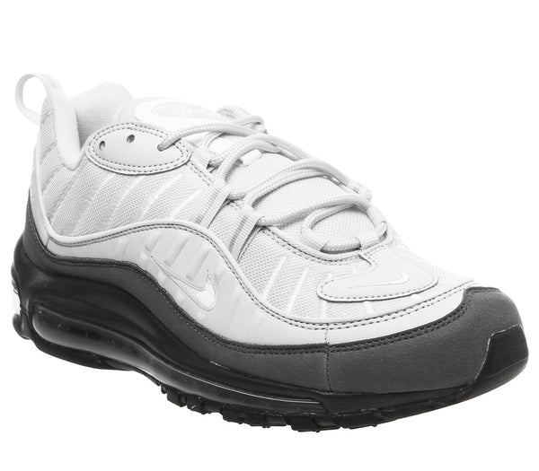 Unisex Nike Air Max 98 White Vast Grey Dark Grey