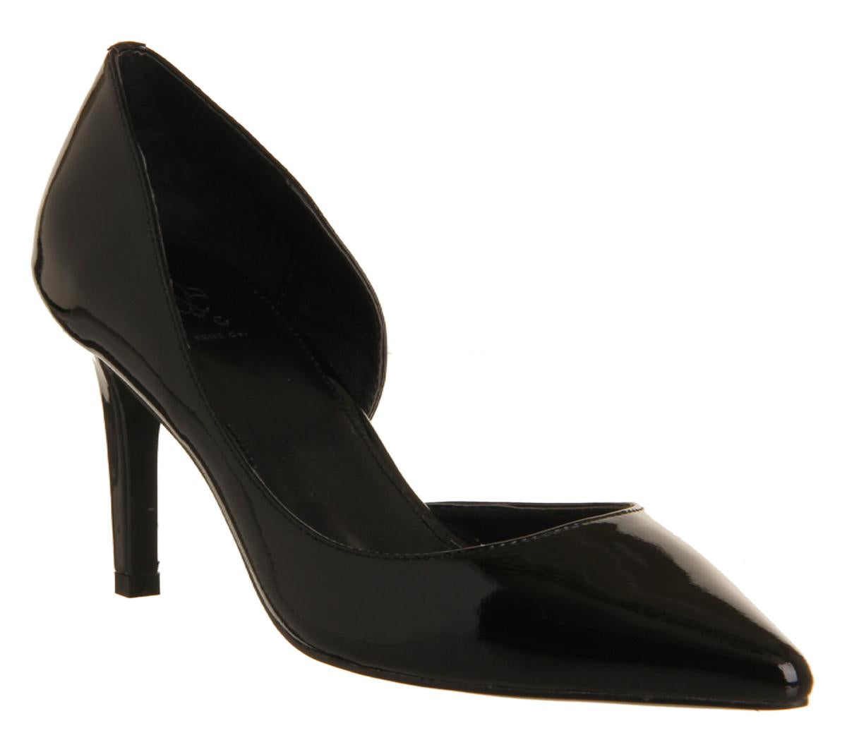 Womens Friis & Co Gisele Pump Black Patent Leather