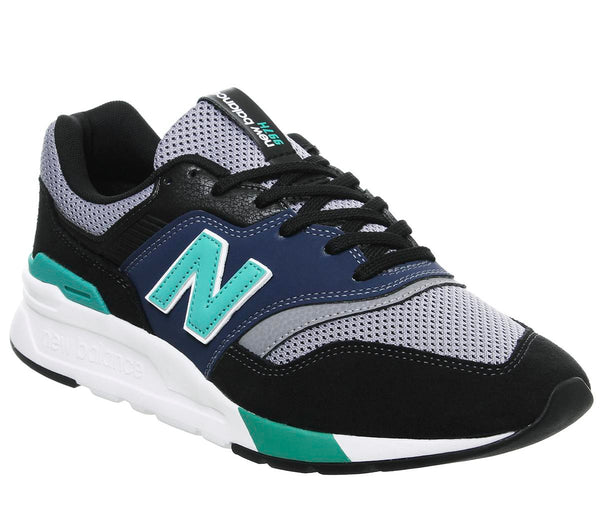 Mens New Balance 997 Black Verdite