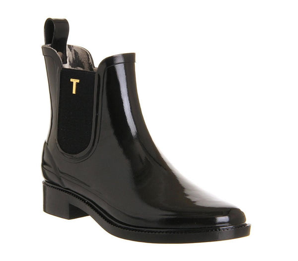 Womens Ted Baker Lyran Chelsea Welly Black