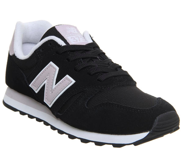 Womens New Balance W373 Black Light Cashmere