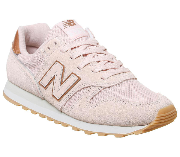 Womens New Balance W373 Pink Rose Gold