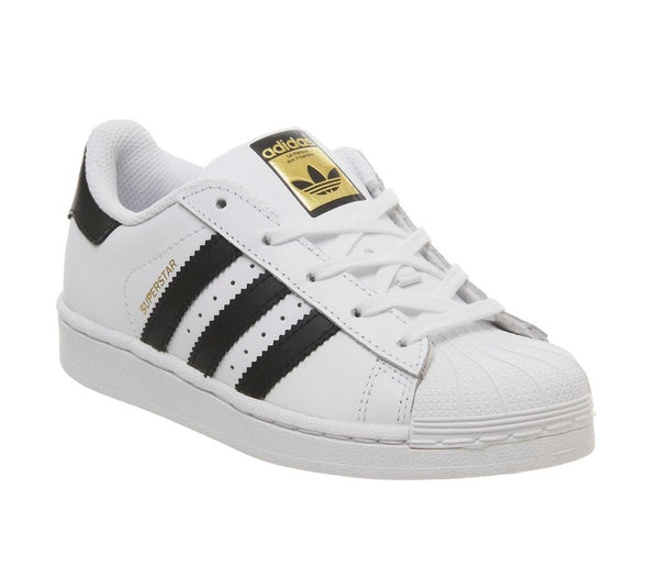 Kids Adidas Superstar Kids 102 White Core Black
