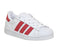 Kids Adidas Superstar Kids 102 White Irridescent White