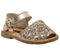 Kids Solillas Bebe 510 Peach Glitter