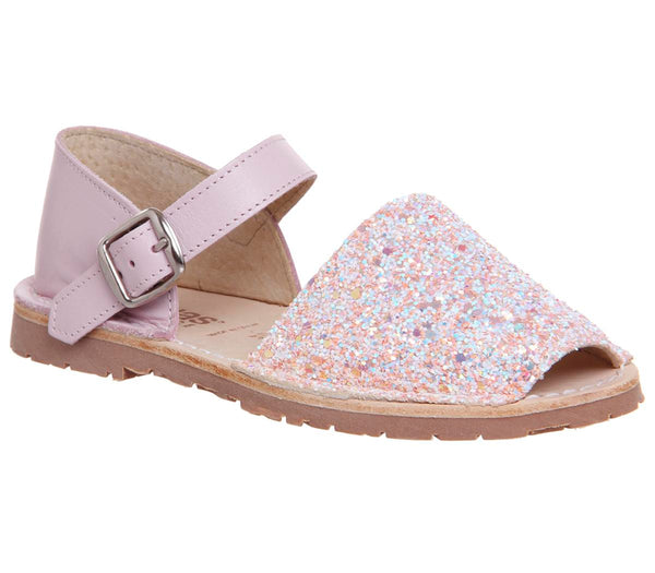 Kids Solillas Bebe 112 Pink Glitter Uk Size 13 Youth