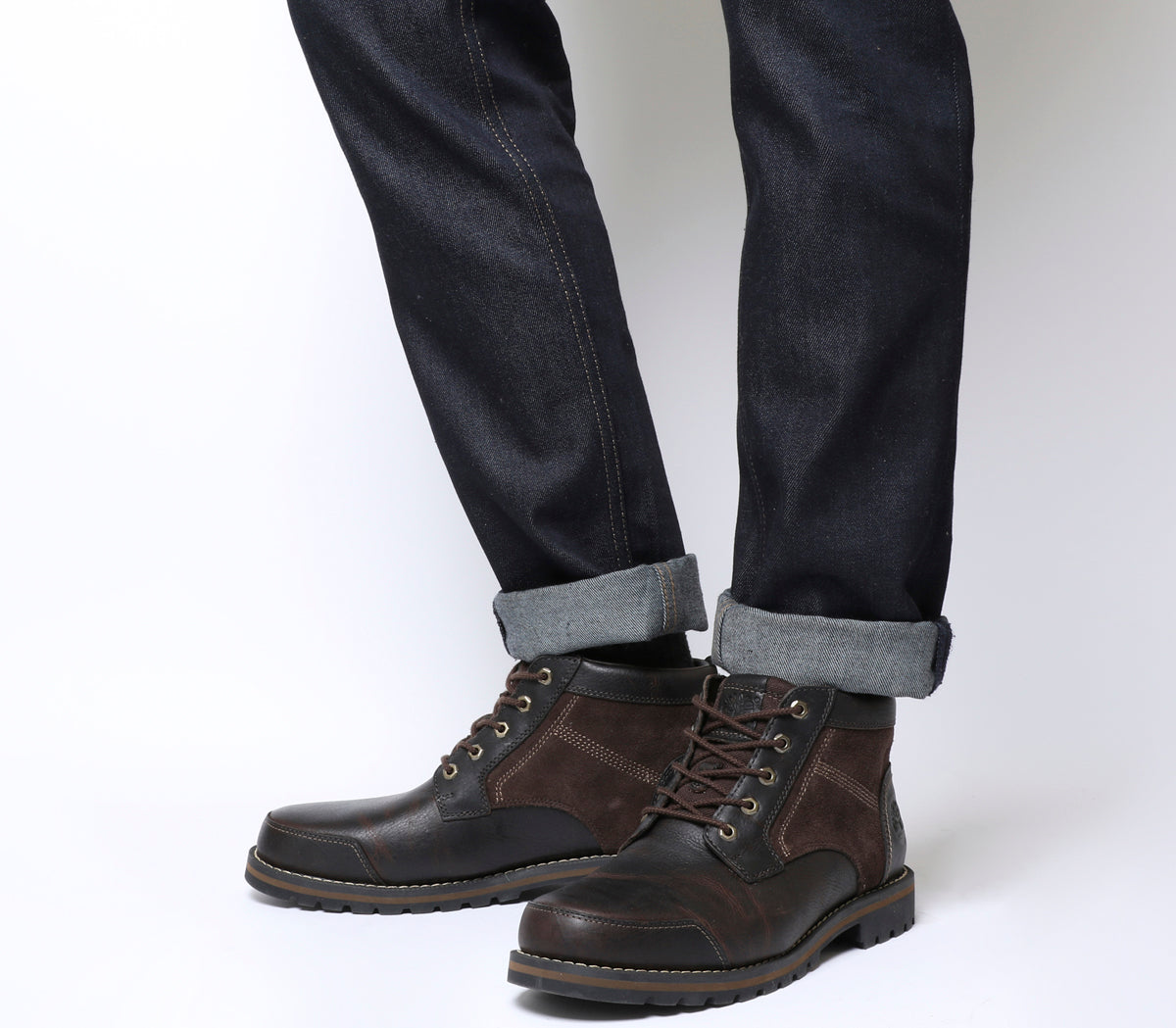 b940bf6f3362 Mens Timberland Larchmont Chukka Dark Brown Leather Boots – OFFCUTS SHOES  by OFFICE