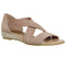 Womens Office Hallie Cross Strap Espadrille Nude Suede