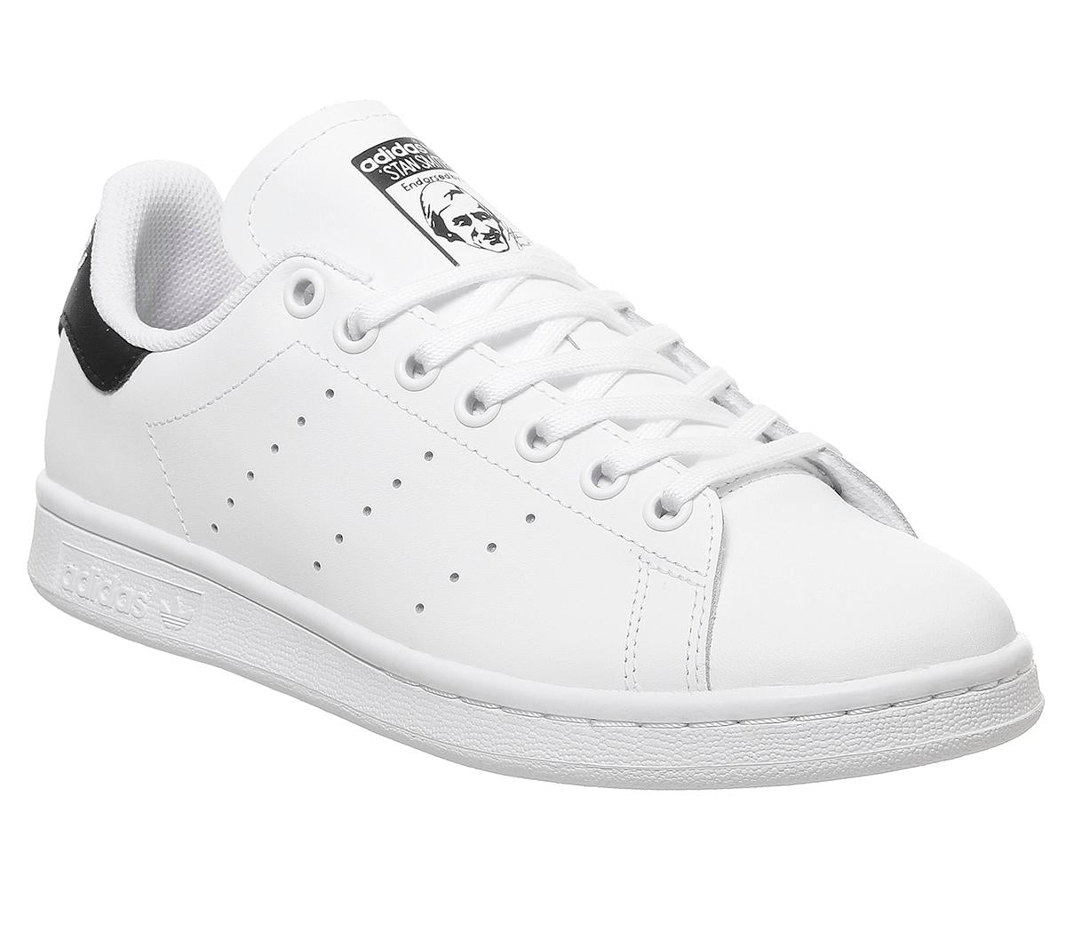 Kids Adidas Stan Smith Gs White White Core Black
