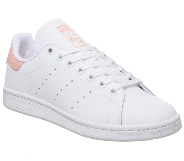 Kids Adidas Stan Smith Gs White Glow Pink