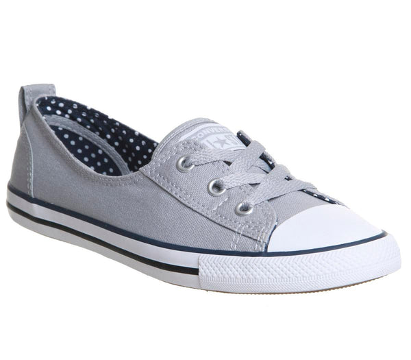 Womens Converse Ctas Ballet Lace Wolf Grey Navy White Uk Size 4
