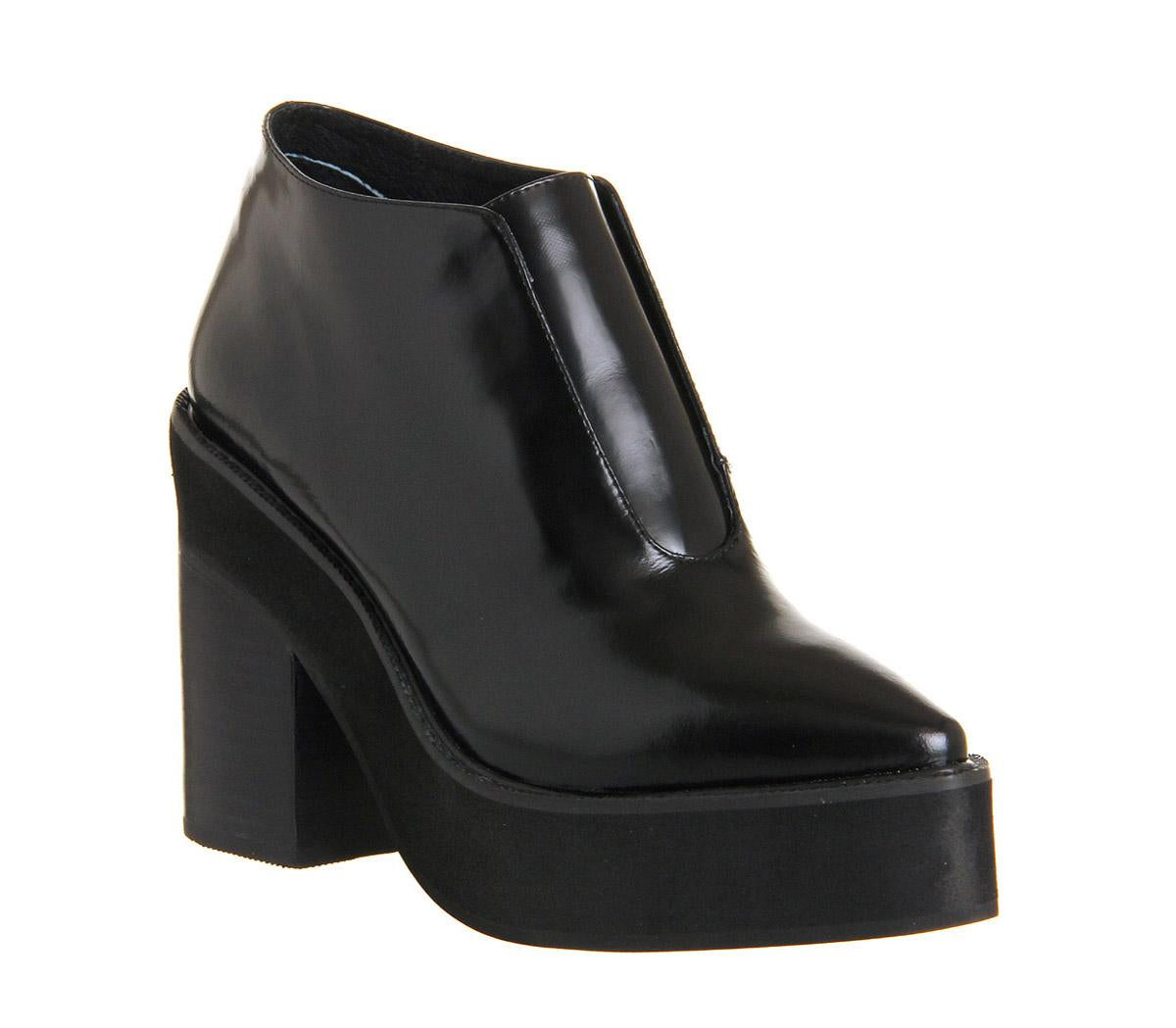Womens Sol Sana Wyaat Boot Black Leather
