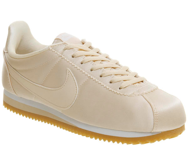 finest selection 61d87 a6e24 Womens Nike Cortez Barely Orange Satin Qs Uk Size 7