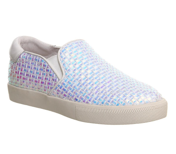 Womens Ash Impuls Bis Slip On Woven Iridescent
