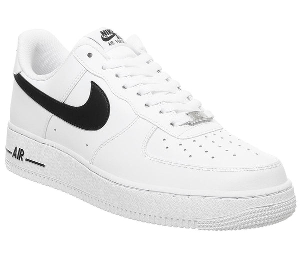 Mens Nike Air Force One (M) White Black Uk Size 7