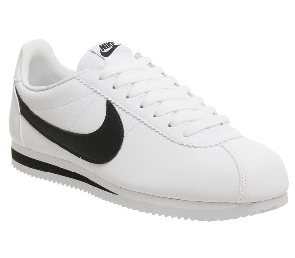Mens Nike Classic Cortez Og White Black Leather