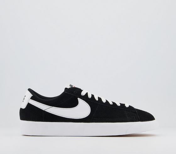 Mens Nike Blazer Low Vintage Black White