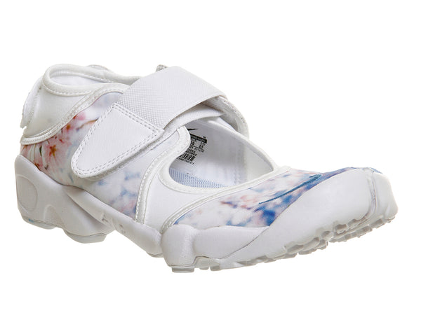 Nike  Nike Air Rift  White Uni Blue Cherry Blossom  Uk Size 5.5