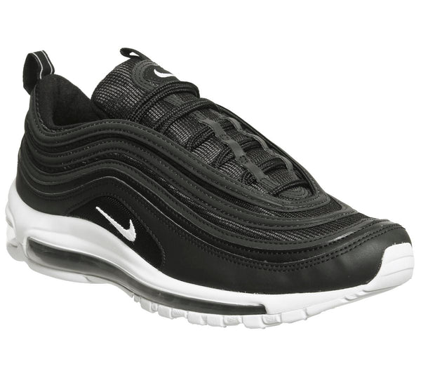 Mens Nike Air Max 97 Black Wolf Grey White