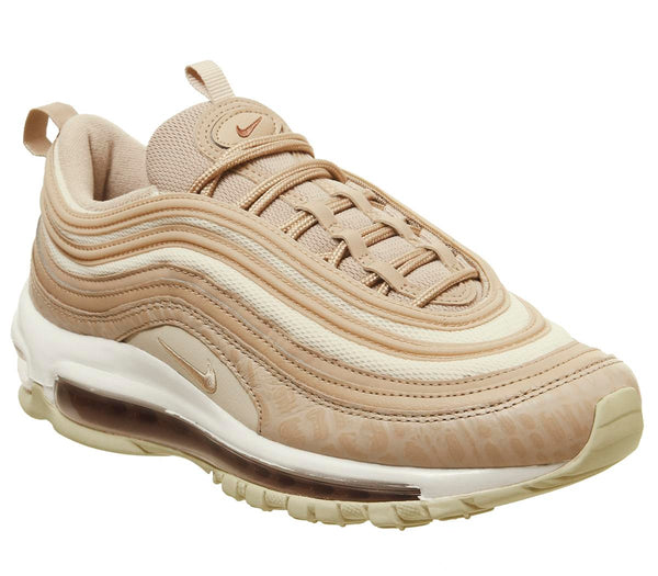 new concept 22630 2a9f9 Womens Nike Air Max 97 Bio Beige Light Carbon Peach White Lx F Uk Size 6.5