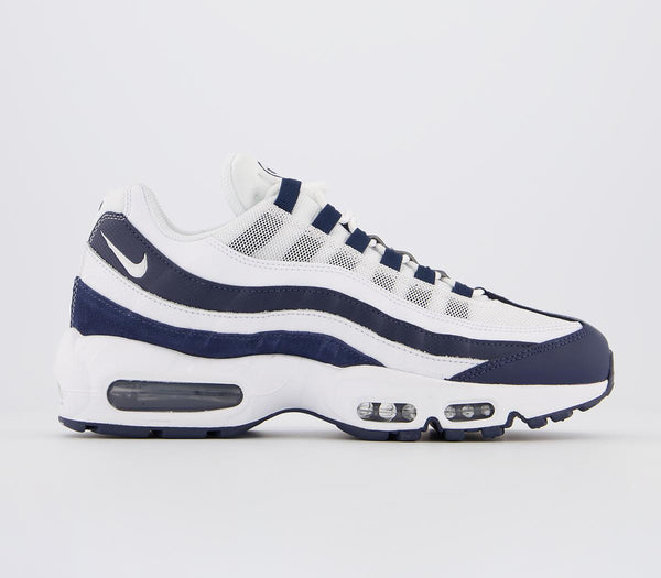 Odd sizes - Mens Nike Air Max 95 Midnight Navy White Sizes R8/L7