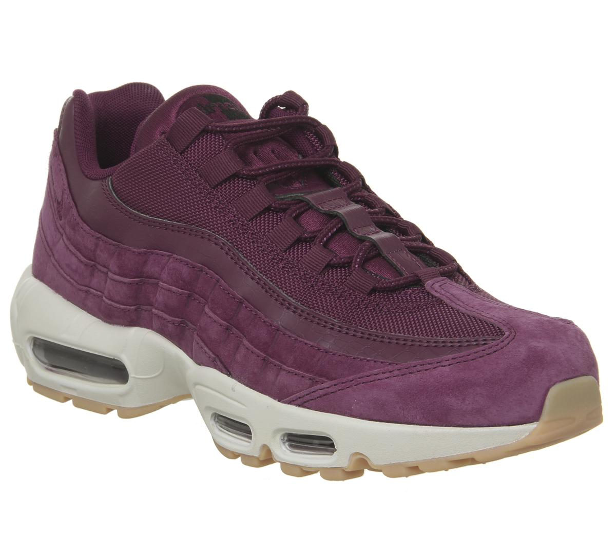 best loved 1db83 55a4a Mens Nike Air Max 95 Bordeaux Desert Sand Uk Size 7