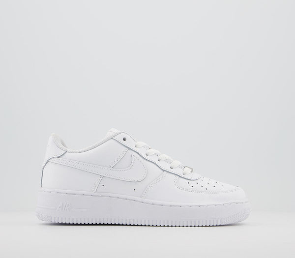 Odd sizes - Kids Nike Af1 Boys White White UK Sizes R3/L3.5