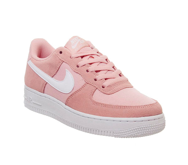 Youths Nike Af1 Boys Coral Starust White Uk Size 5.5