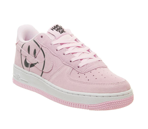 Womens Nike Af1 Boys Pink Foam White Smile Uk Size 4.5