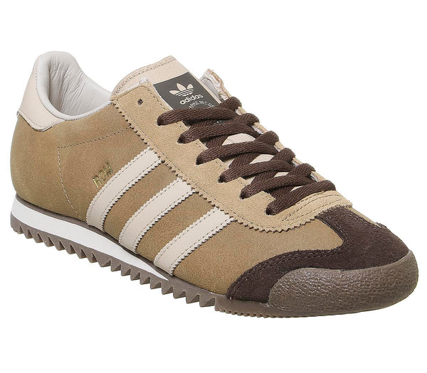 Mens Adidas Rom Raw Desert St Pale Nude Brown Uk Size 8