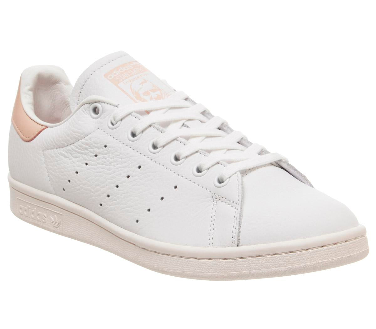 Susceptibles a Timor Oriental Tomar medicina  Womens Adidas Stan Smith White Vapour Pink Off White – OFFCUTS SHOES by  OFFICE