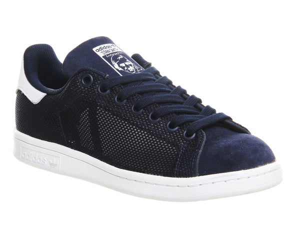 Mens Adidas Stan SmithNavy Mesh Exclusive Trainers UK Size 9