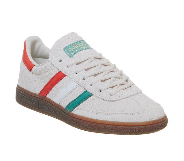 Mens Adidas Handball Spezial Clear Brown White Gold Met
