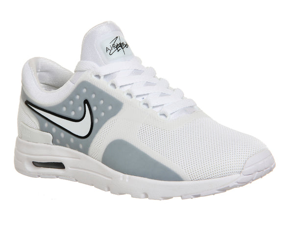 Womens Nike Air Max Zero White Black W Trainers  Size UK 6