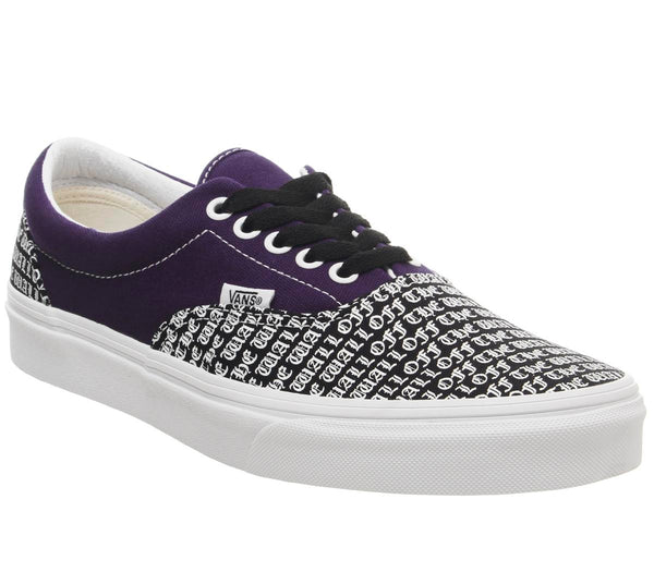 Mens Vans Era Black Mysterio