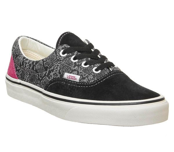 Womens Vans Era Black Multi Marshmallow Uk Size 6