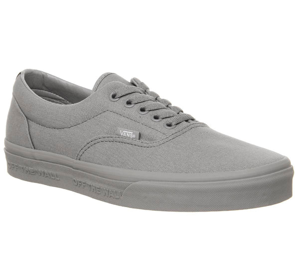 Mens Vans Era Frost Grey Black Uk Size 6