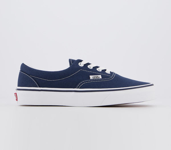 Odd sizes - Mens Vans Era Navy Trainers UK Sizes R9/L8