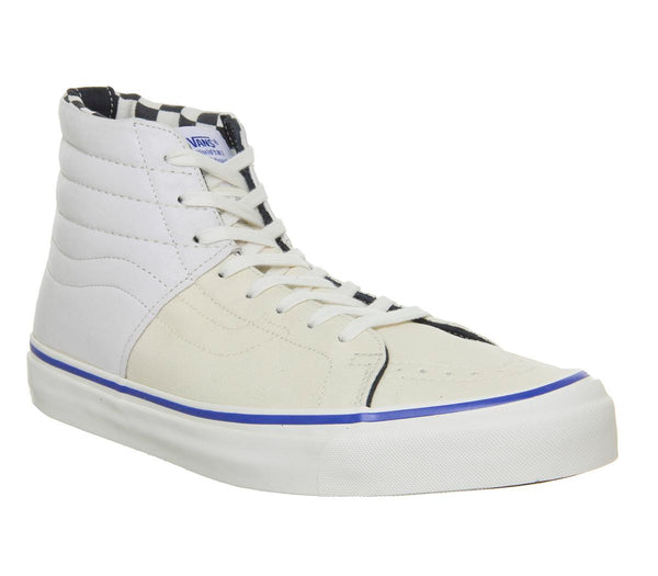 Mens Vans Og Sk8 Hi Lx Inside Out Checkerboard