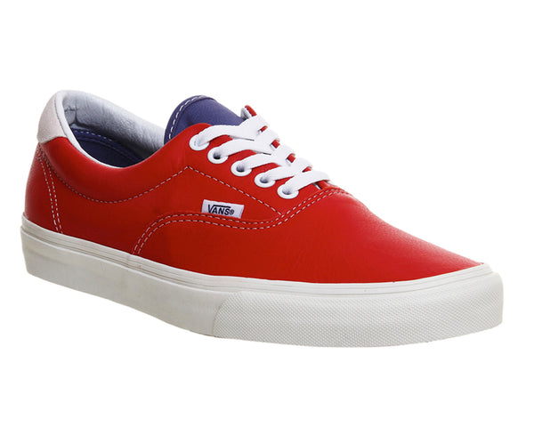 Mens Vans Era 59 Racing Red Bijou Blue