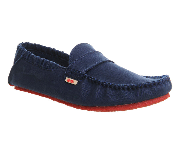 Mens Mocks Classic Canvas Mock Veneto Navy Uk Size 6