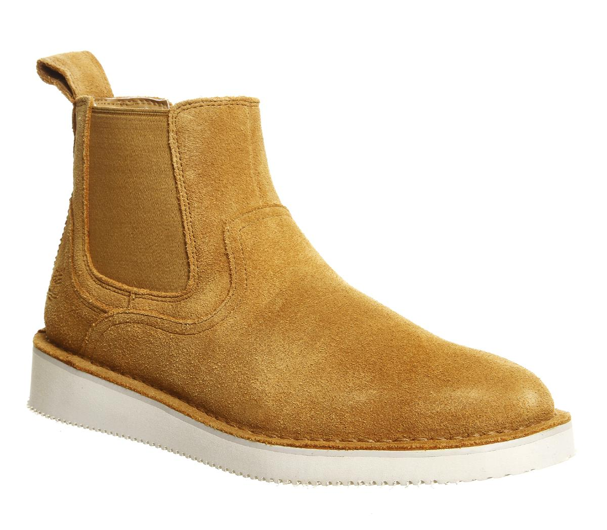 Mens Timberland Chelsea X publish Boot Wheat Suede